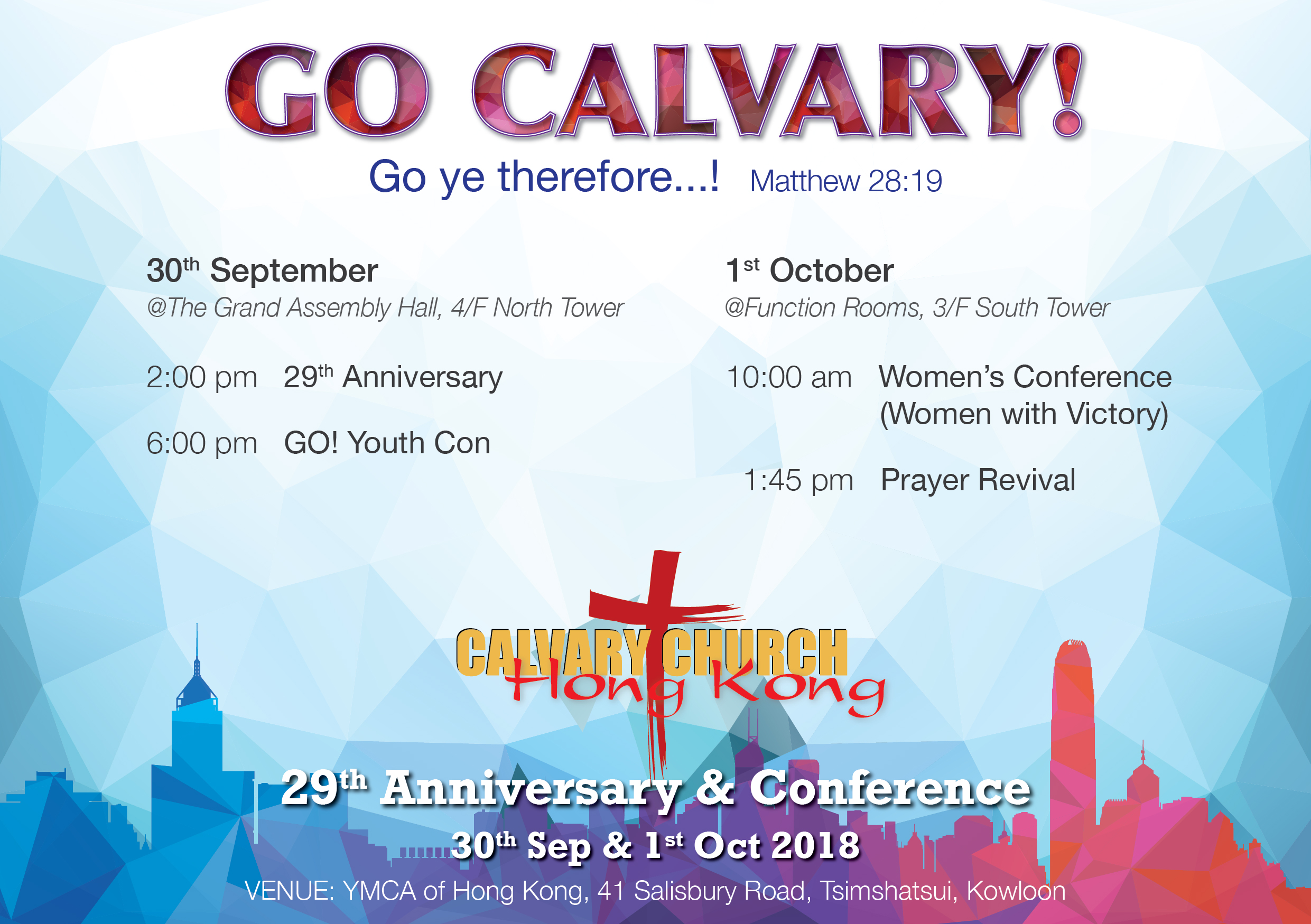 Calvary Church 29th Anniversary